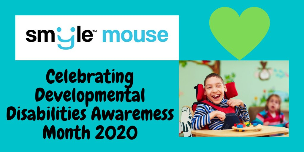 March is #DDAwarenessMonth ! Check out Smyle Mouse, the next-gen in #headmouse  technology that works via webcam by sensing head motion & smiles. Visit  https://SmyleMouse.com   for 14-day free trial. #MS  #cerebralpalsy  #assistivetechnologies  #spinalcordinjury  #ALS  #AAC  #SLP