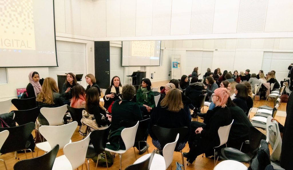 Fantastic event today with @ribaeastmidland as always #WomenInArchitecture #Architecture #Nottingham