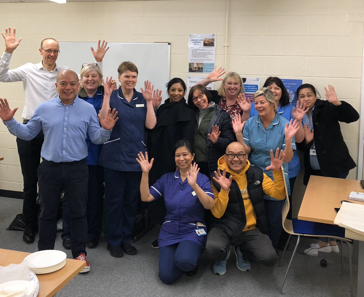 A great afternoon with @LeedsHospitals renal QI leads & champions. All full of energy to improve vascular access cannulation for patients receiving in centre dialysis. Each one a 'Magician'. #ELearning #measurement #sustainability #KQuIP @HaemodialysisVA https://t.co/oTHBhnXZTw