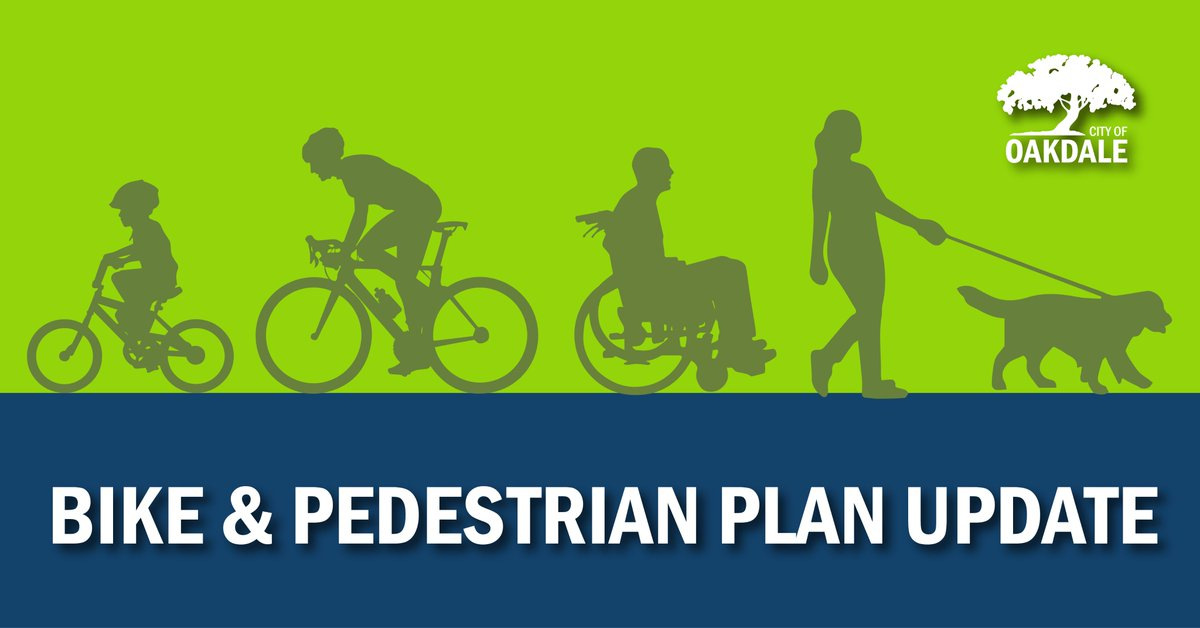 We are seeking resident input on walking and biking in Oakdale. Feedback received will inform the city's Bike and Pedestrian Plan update. Participate by May 1, 2020: https://www.surveymonkey.com/r/obpsm  and https://wikimapping.com/Oakdale-Pedestrian-and-Bicycle-Plan.html …pic.twitter.com/moTxzgw48P