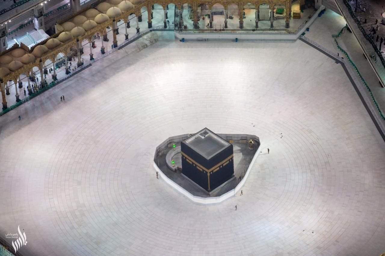 Masjidil Haram pada Jumat (6/3/2020)