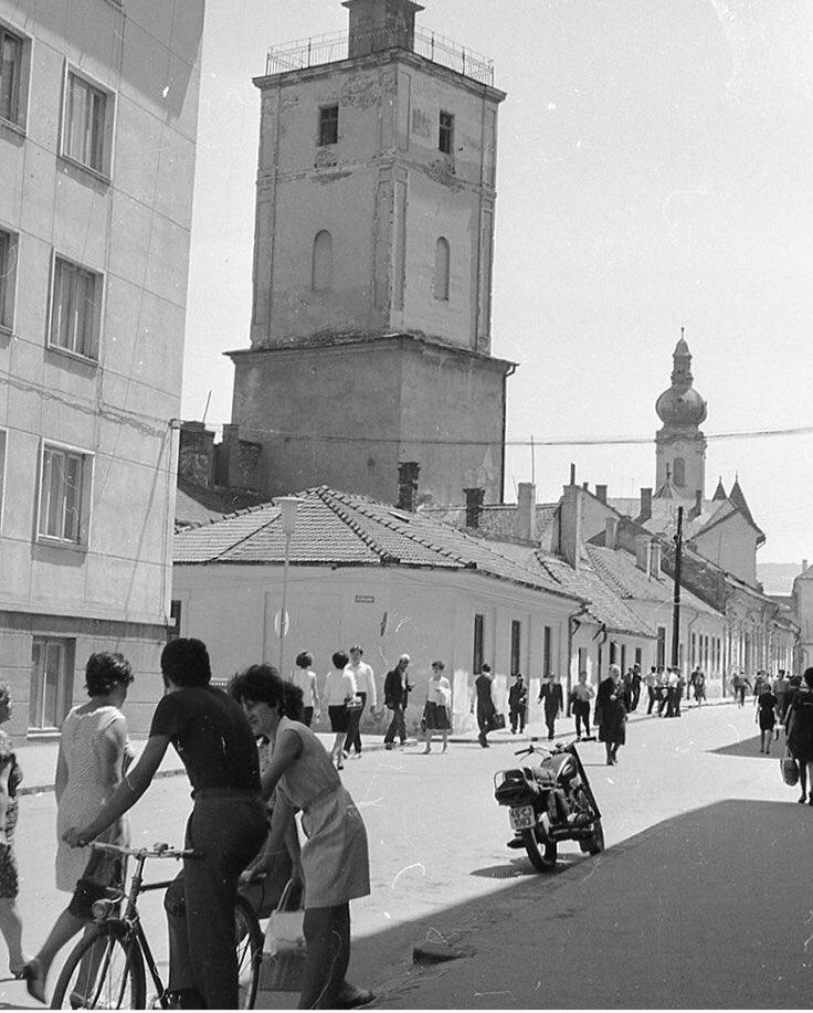 Cluj-Napoca, 1969. Do you recognise the area? #Romania https://t.co/TTweUZlb9H