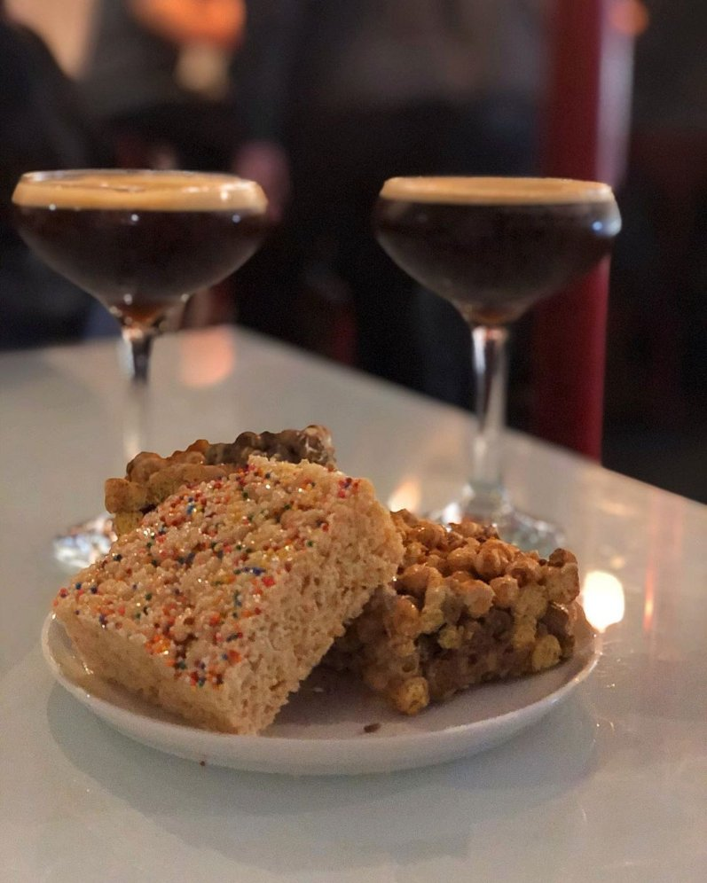 """No judgement here  Reposting @rhode_sodas: """"I like my #cereal in #bar form and my #coffee in a #martini glass...after 5pm, mostly."""" #eatwicked #drinkwickedtoo #rhodeisland https://buff.ly/2ueg9uYpic.twitter.com/oSC5i7deBF"""