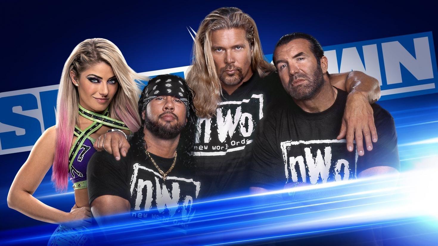 WWE Smackdown Preview (06/03/20): nWo, Gauntlet, Sasha Bayley-Lacey Evans Naomi 4