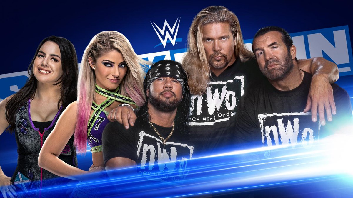 WWE SmackDown Preview For Tonight: NWO Returns, Firefly Fun House, Six-Team Gauntlet Match, More