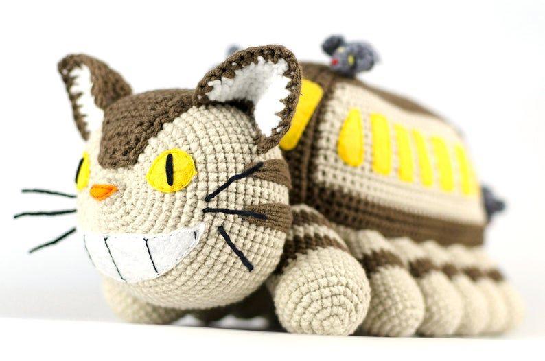 Ravelry: Cat Bus pattern by Sharon Ojala | 526x794