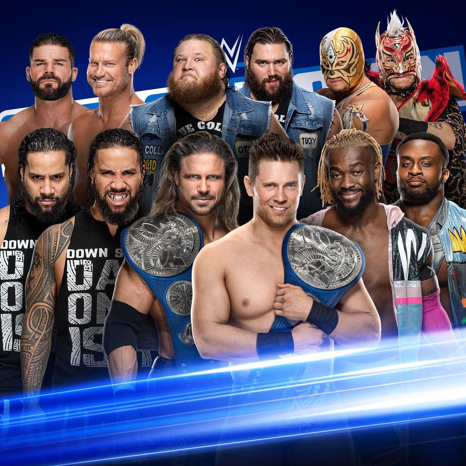 WWE Smackdown Preview (06/03/20): nWo, Gauntlet, Sasha Bayley-Lacey Evans Naomi 2