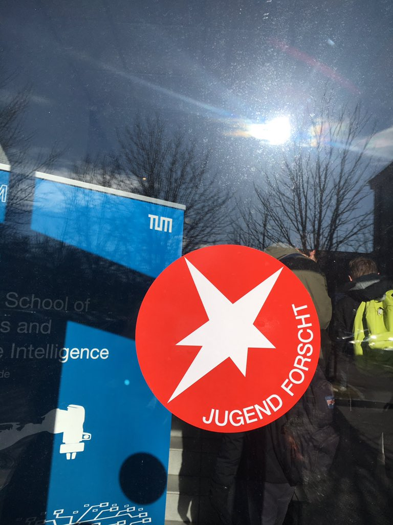 2 tolle Tage an der Munich school of robotics and machine intelligence  der @TU_Muenchen für #jugendforscht #jugendforscht2020 https://t.co/3xzXrGJS1t
