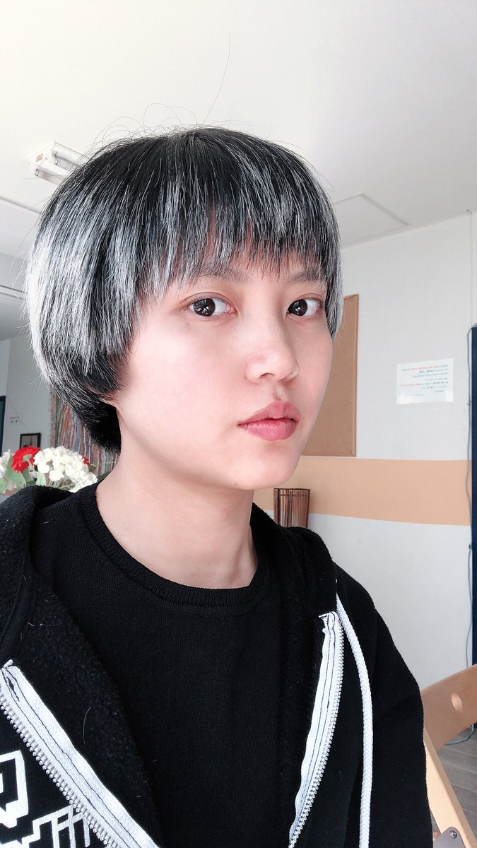 "Zurako on Twitter: ""Cut my hair today, I look like a boy lol """