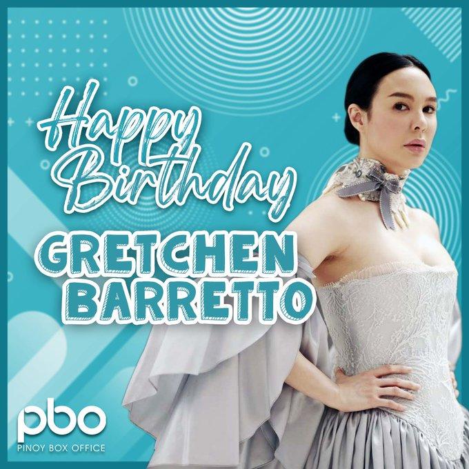 Happy Birthday, Ms. Gretchen Barretto! We wish you a wonderful day ahead!
