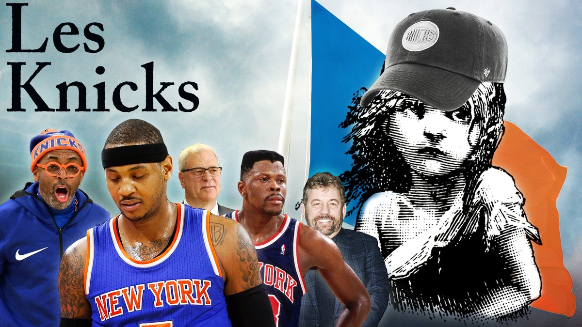 #NBADesktop and Ringer Records present: #LesKnicks by @sarahlynnrob