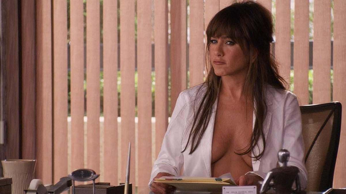 For justin's eyes only did jennifer aniston pull her nude scene