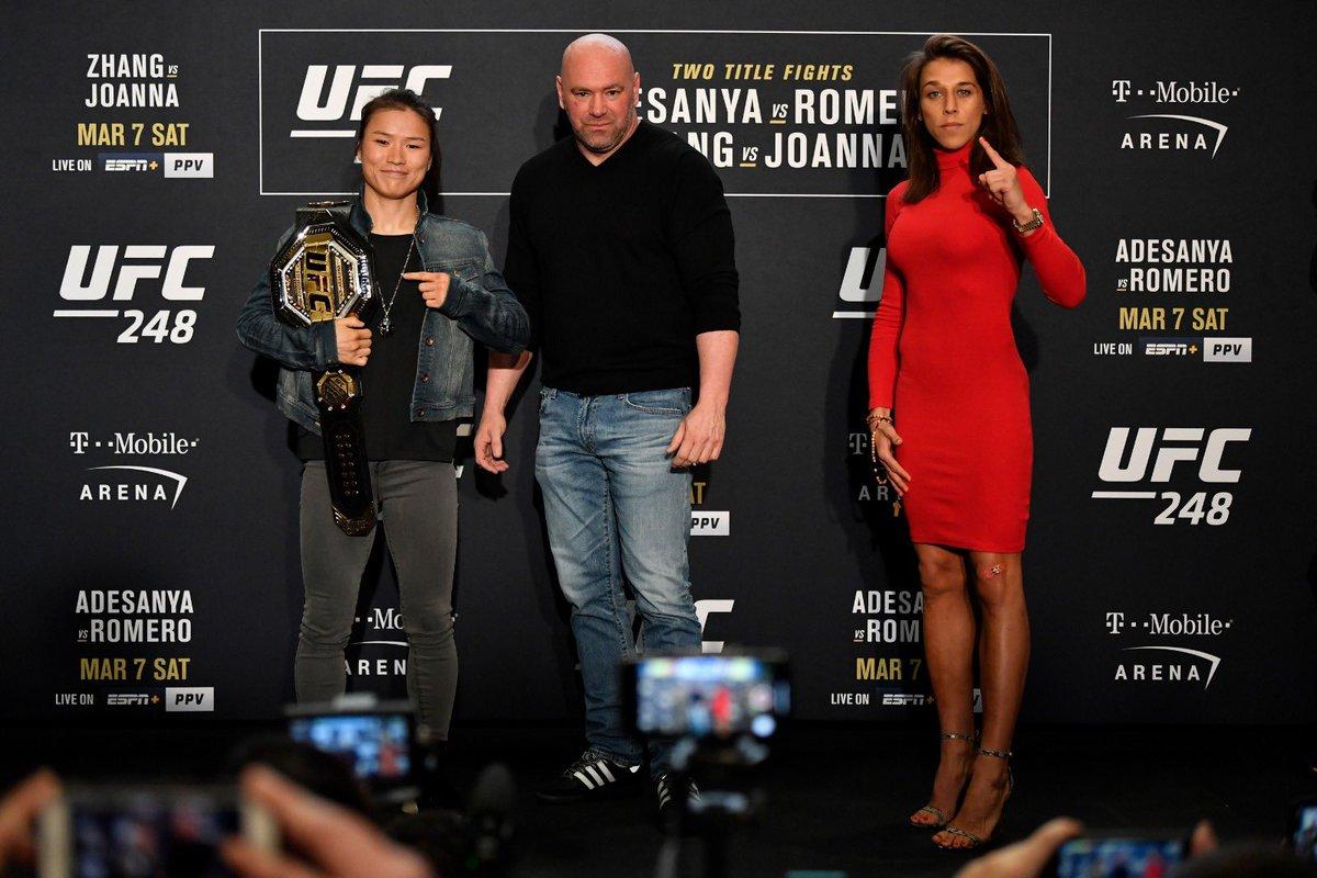 It's happening in two days!💥 #UFC248 @ufc @UFCEurope @BallengeeGroup @danawhite  📸 @jeffbottari https://t.co/qfXWLHaGB4
