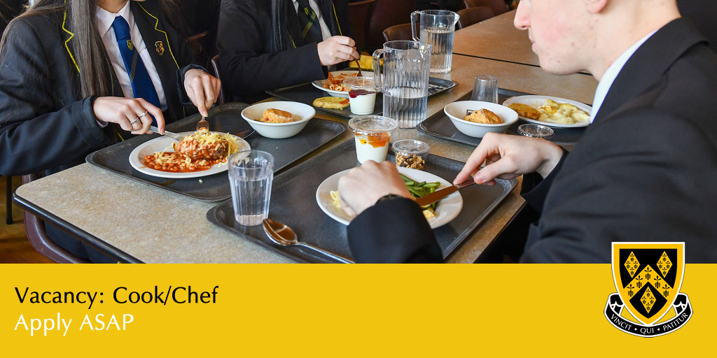 We are looking to appoint a Cook/Chef to work in the #Catering department.  Tasks include planning, preparing and cooking #food, ensuring that daily food quality is maintained and that food is prepared and cooked in accordance with the agreed menus.
