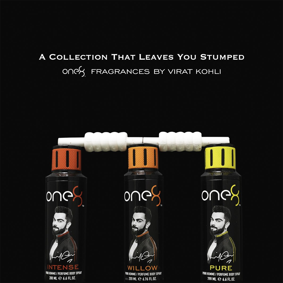 Fragrances to bowl you over! Choose from an intriguing range of perfumes from one8 Fragrances by Virat Kohli.   Shop now:   #one8Fragrances #ScentialsWorld @imVkohli