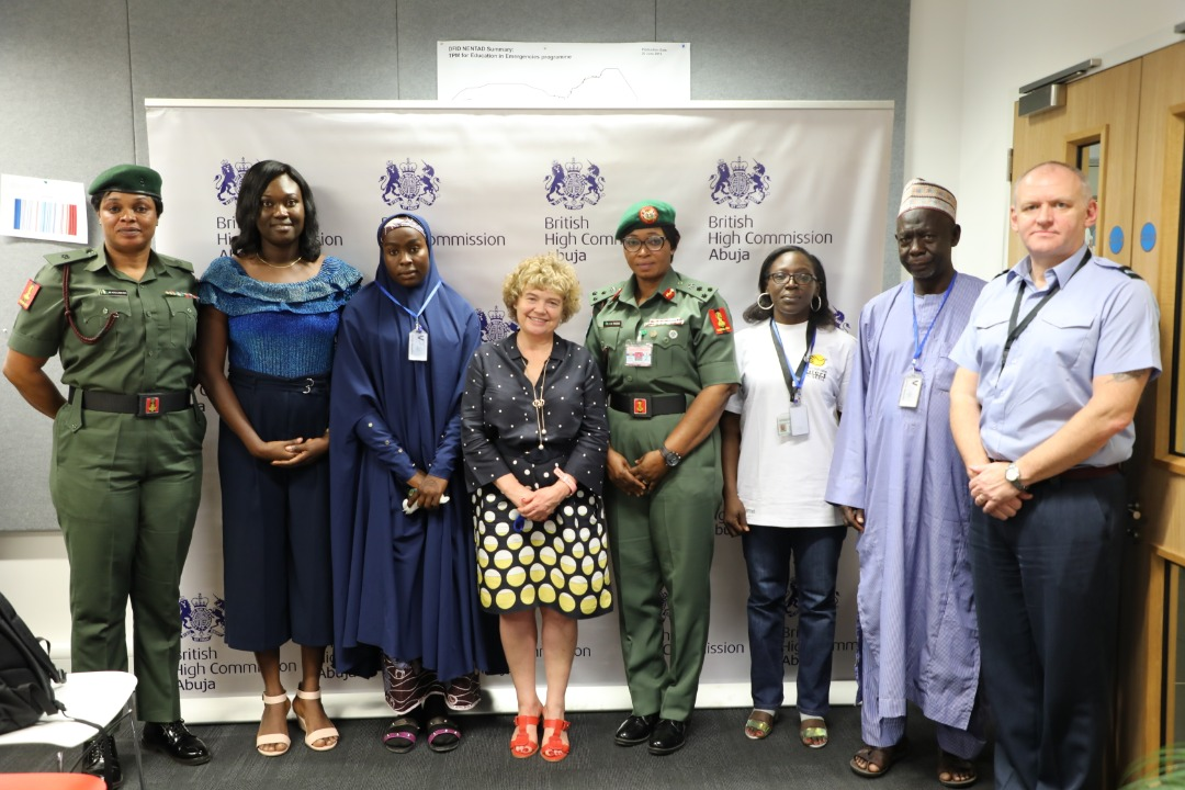 """UK in Nigeria🇬🇧 on Twitter: """"To mark #IWD2020, UK funded CSSF programme  showcased one of its interventions that supports women& girls victims of  the insurgency in NE Nigeria. A female beneficiary shares"""