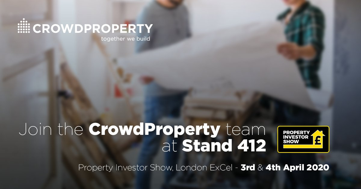 Visit @CrowdPropertyUK at Stand 412 at the @Investor_Show, the UK's largest residential property investment, business & networking exhibition.⠀  CEO @mikebristow is speaking on the growth of peer to peer finance and a new, more rewarding financial era: https://t.co/IhwhOPNEbH https://t.co/hvhA1khdp2