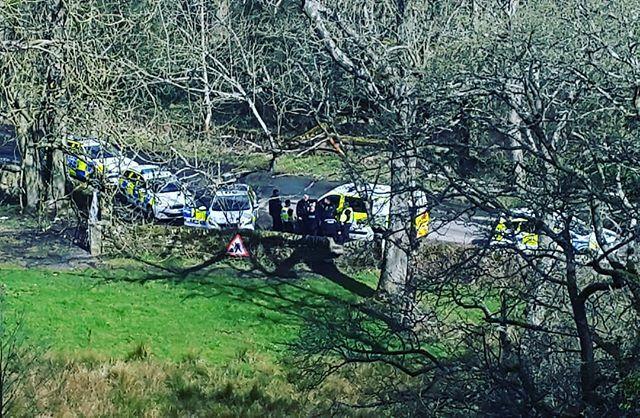 Derbyshire police protecting a criminal hunt #operationTrek #acab #ahab ift.tt/2INdmwc
