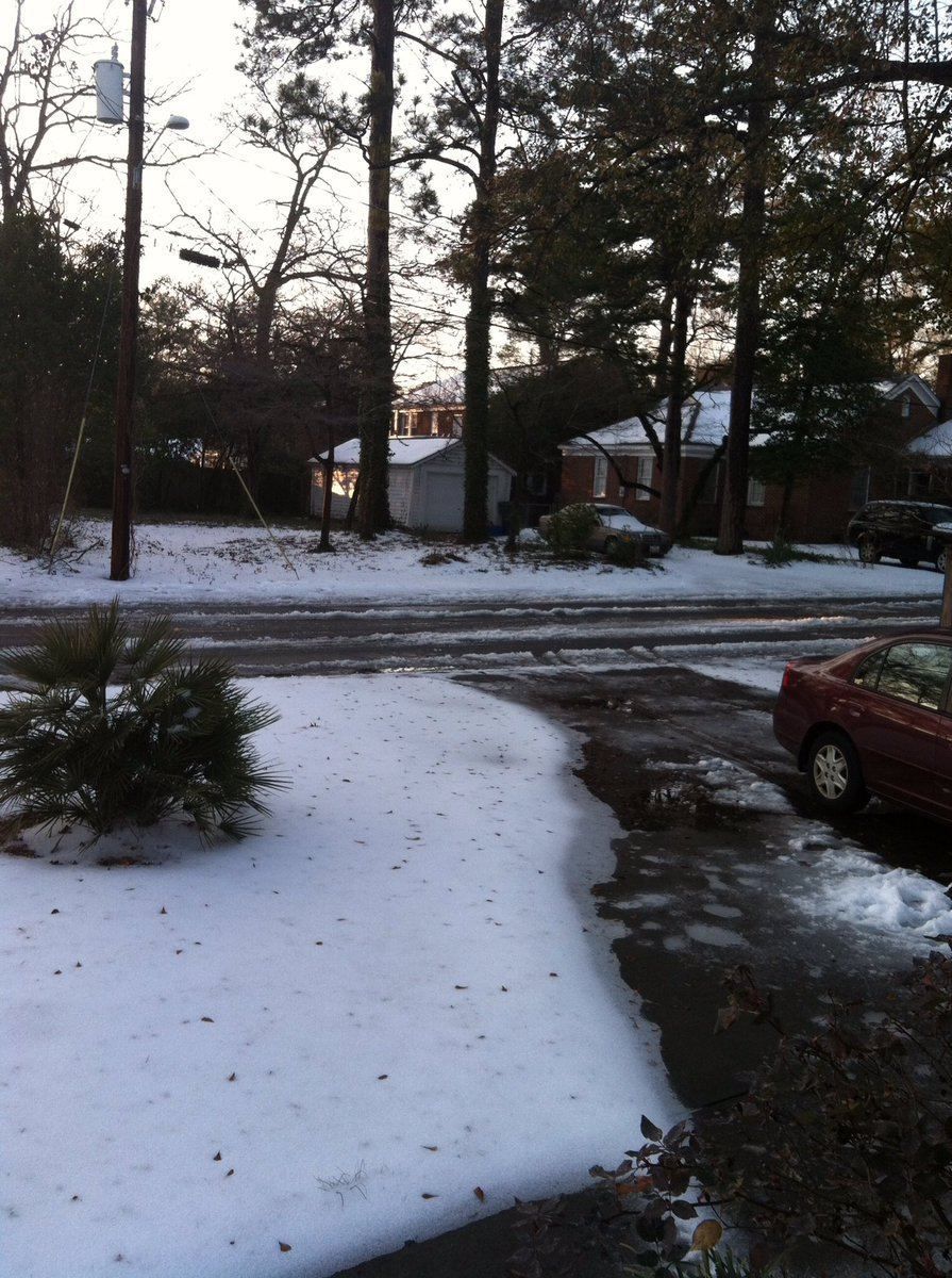 Here in South Carolina, we close the public schools over a dusting of snow. Just saying...