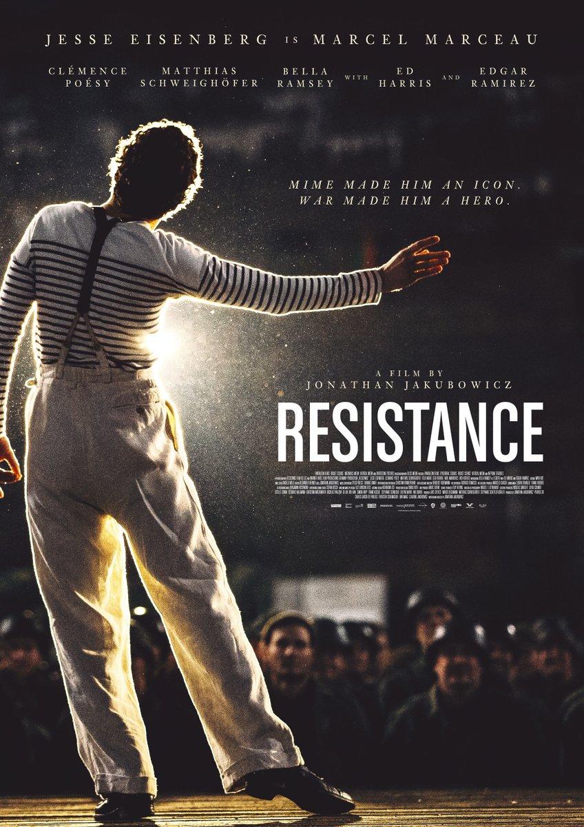 Image result for resistance jesse eisenberg poster
