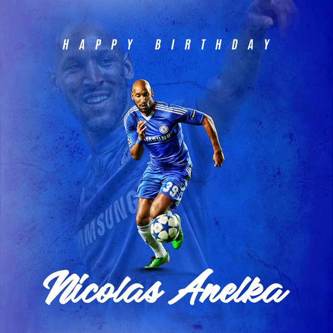 Happy Birthday Nicolas Anelka - One of the most travelled footballer.
