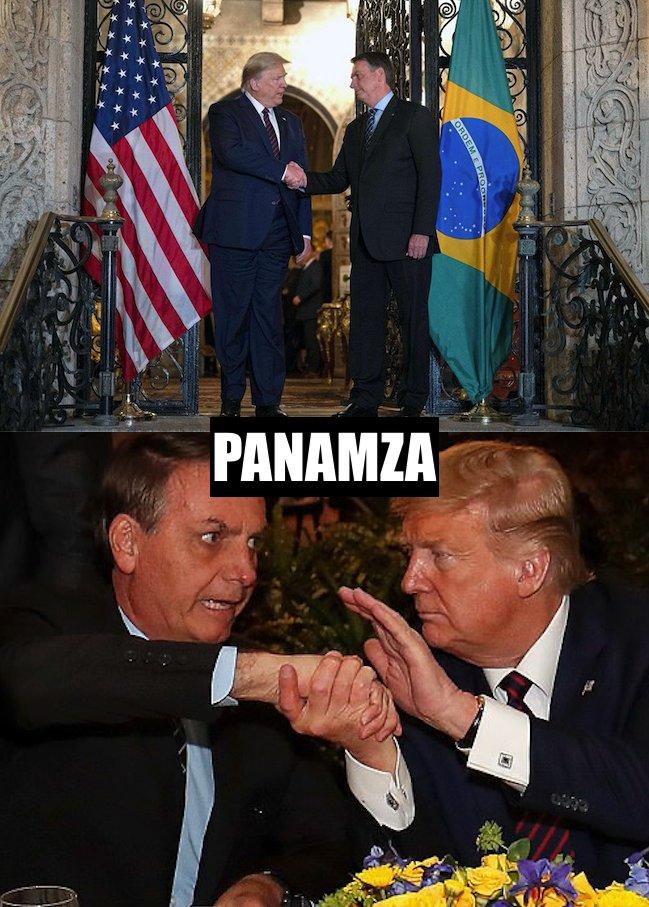 Bolsonaro contaminé : il était avec Trump samedi dernier