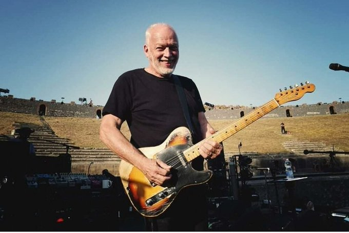Happy birthday to the man who is the reason I play guitar, David Gilmour. (And still my favourite guitarist.)