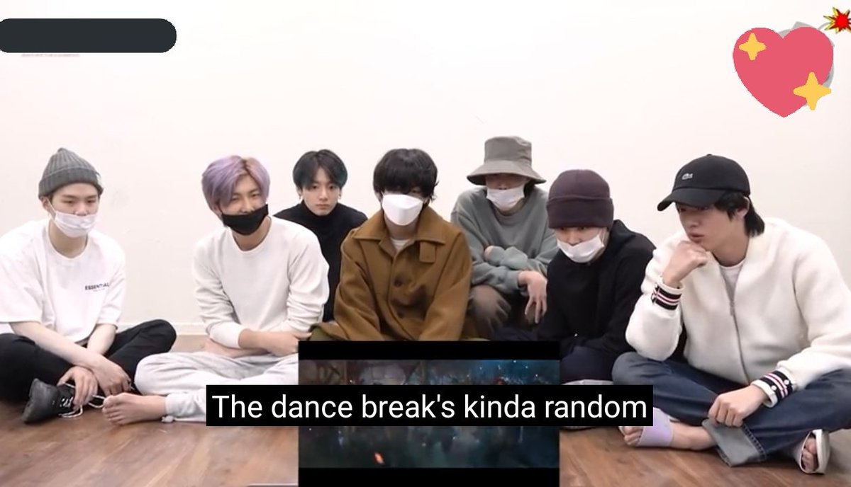 So the reason why Seokjin does not do the brake dance is because it does not belong to the tribes, but instead joins them afterwards.  interesting point of view  @BTS_twt #BTS #ONMusicVideo <br>http://pic.twitter.com/FC0SnizEzE