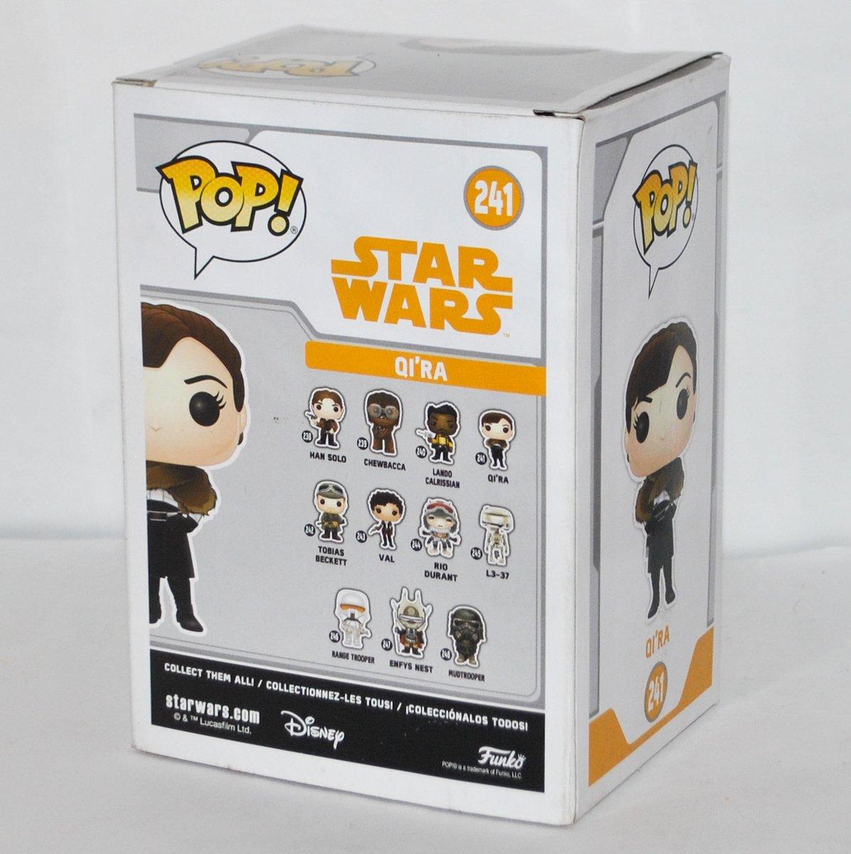 Qi/'ra from Star Wars New In box. Funko Pop