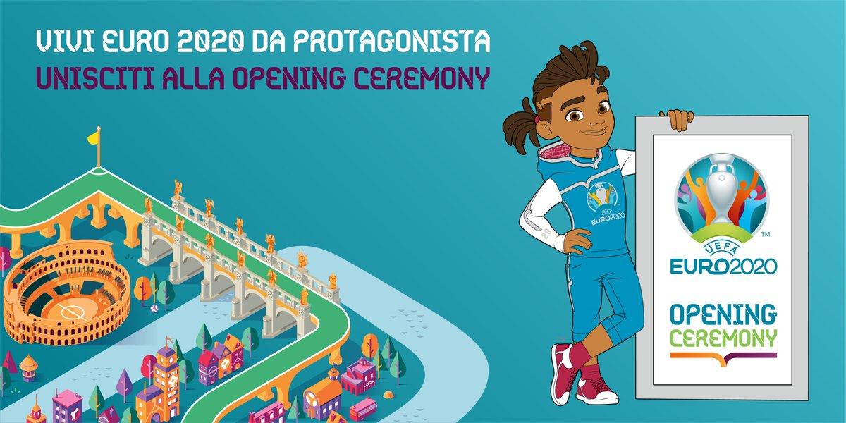 Unaltra occasione per essere protagonista della cerimonia dapertura di UEFA @EURO2020, il 12 giugno: candidati adesso per la Opening Ceremony e vivi uno spettacolo unico trasmesso in tutto il mondo! 👉euro2020openingceremony.it @Roma @figc @Vivo_Azzurro #EURO2020 #RomaEuro2020