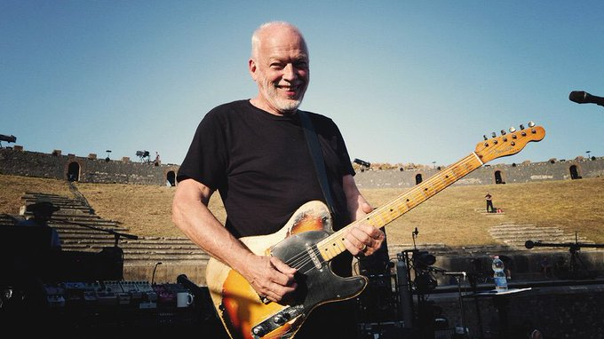 Join us in wishing a very happy birthday to David Gilmour!