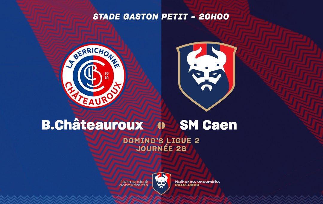 [28e journée de L2] LB Châteauroux - SM Caen ESaZaEVU4AEvsf0