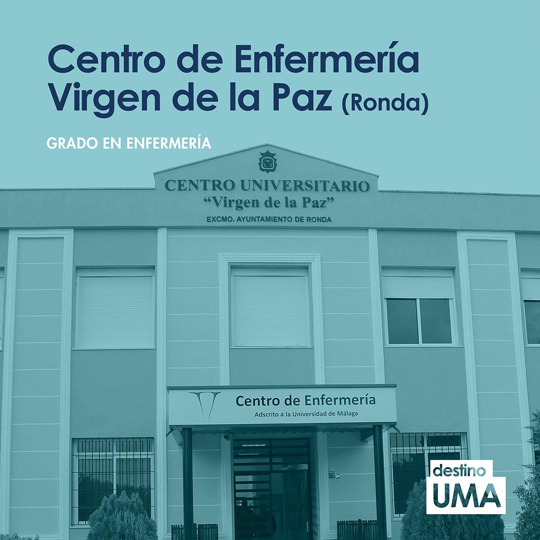 """Destino UMA على تويتر: """"💉 La localidad malagueña de Ronda acoge, desde  1981, la titulación de Enfermería, lo que permite diversificar los lugares  de impartición del grado. 🎓 Conoce el Centro Universitario"""