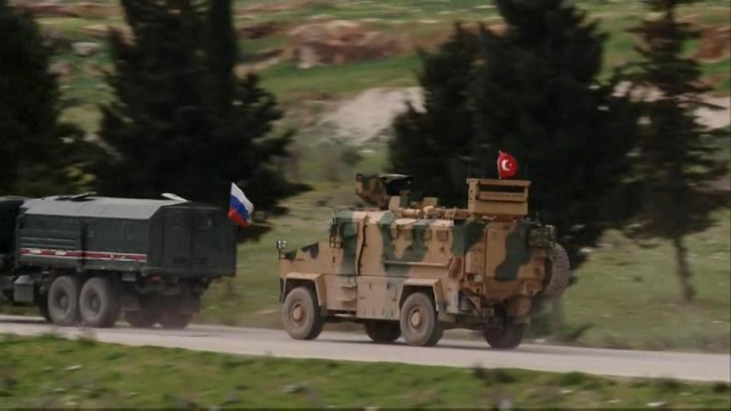 На трассе М-5 началось совместное российско-турецкое движение