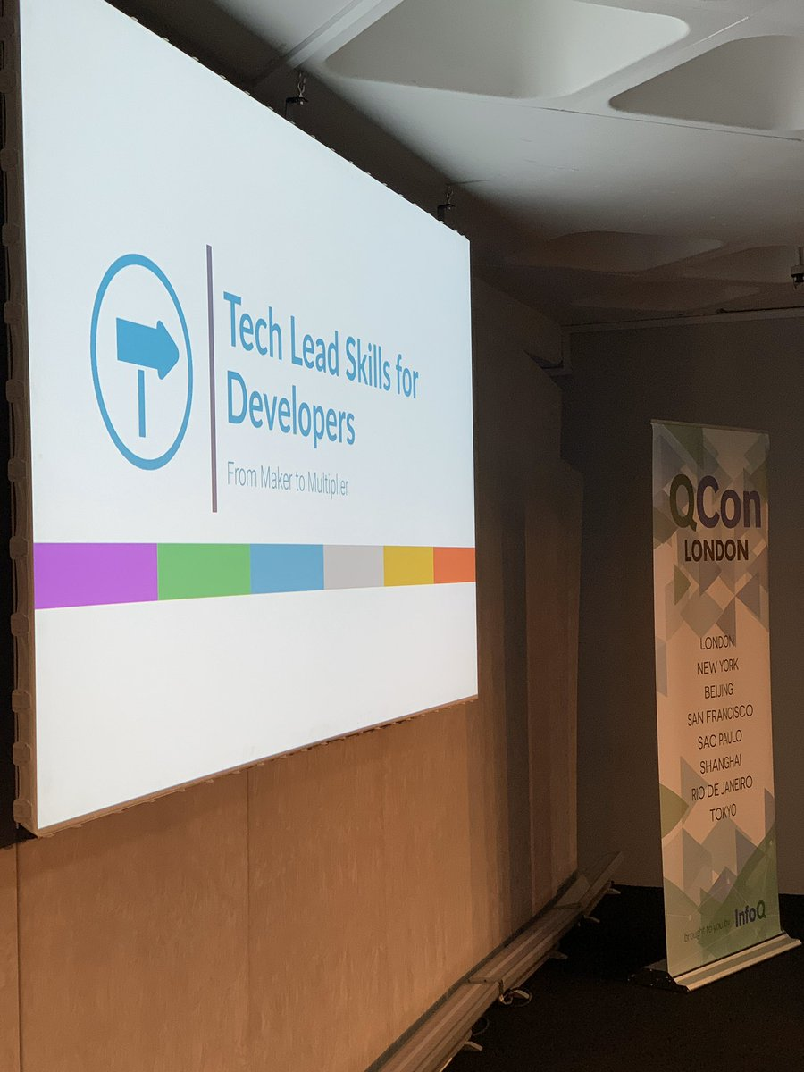 Looking forward to helping other engineers and technical leaders level up today with a workshop at #QConLondon
