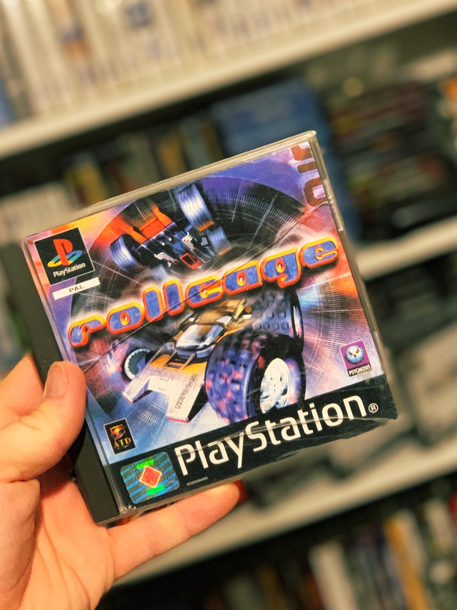 No. 44 of #CuppasTop50Racers is this little classic - it's #RollCage on the #PS1. I remember having the PlayStation magazine that came with the demo of this (sources photo from google in next thread) and instantly finding it super quick and enjoyable.... https://t.co/OshxQBz5lf