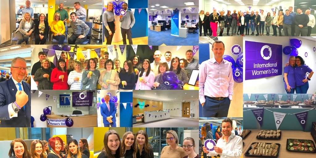 Here at Tysers, we are delighted to celebrate #IWD and recognise the contribution from the #AmazingWomen ♀️ in our workplace! We are proud to support #GenderEquality and celebrate #Womensachievements. #EachforEqual #WomenOfCourage #WomensDay #Womensday2020 #IWD2020 https://t.co/ifBlEMQW2X