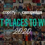 Big news at Captify HQ!! We are honoured to be named in Campaign's 'Best Places to work in the UK 2020'  What. a. team!  https://t.co/itzuqJ6Y3u