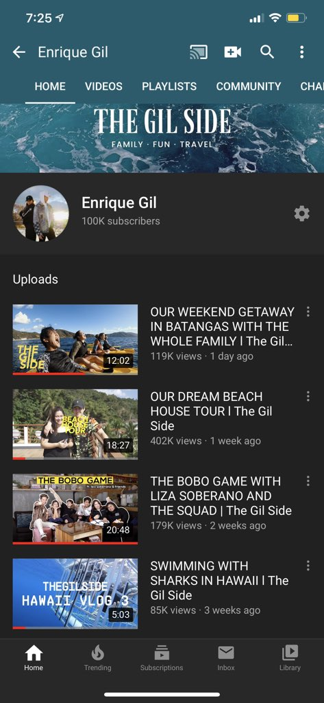 We reached a 100k today! Our family is just getting bigger and bigger ❤️ lets keep spreading love and good vibes guys 🌴 youtube.com/channel/UCvpZz…
