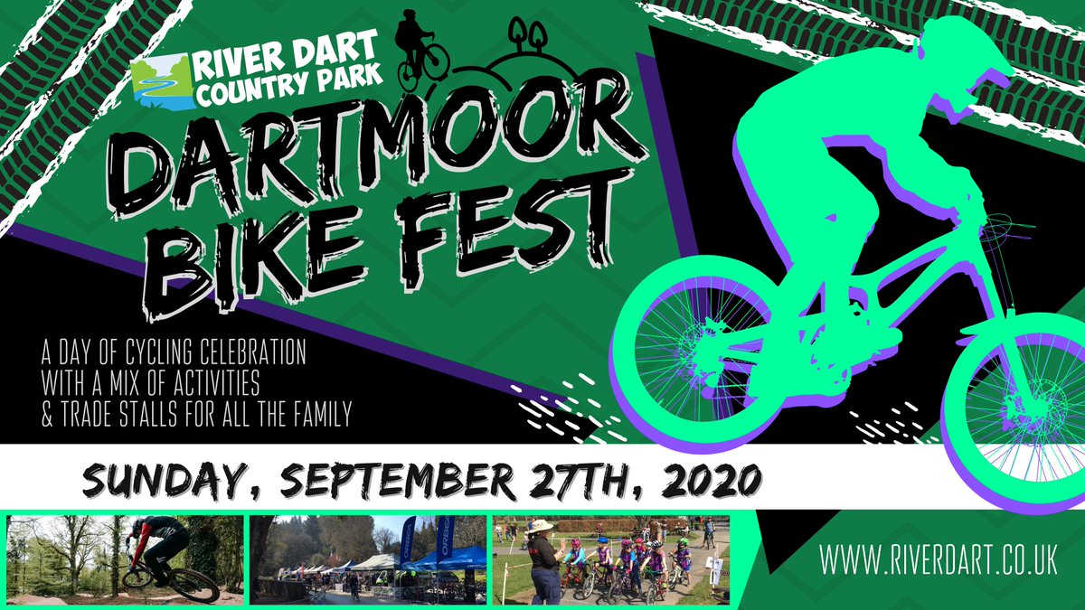 Back by popular demand, Dartmoor Bike Fest returns to @RiverDartCP on Sunday 27th September 2020! 🚴♀️🚴♂️ Save the date! Further details announced soon...