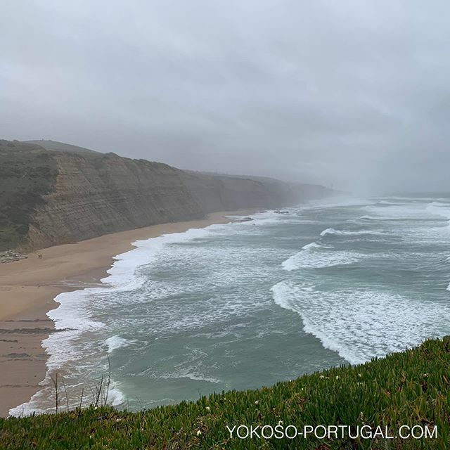 test ツイッターメディア - 冬の大西洋、シントラのマゴイトビーチ。 #ポルトガル https://t.co/Yi2NH17EJg