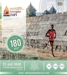 Sleman Temple Run • 2020