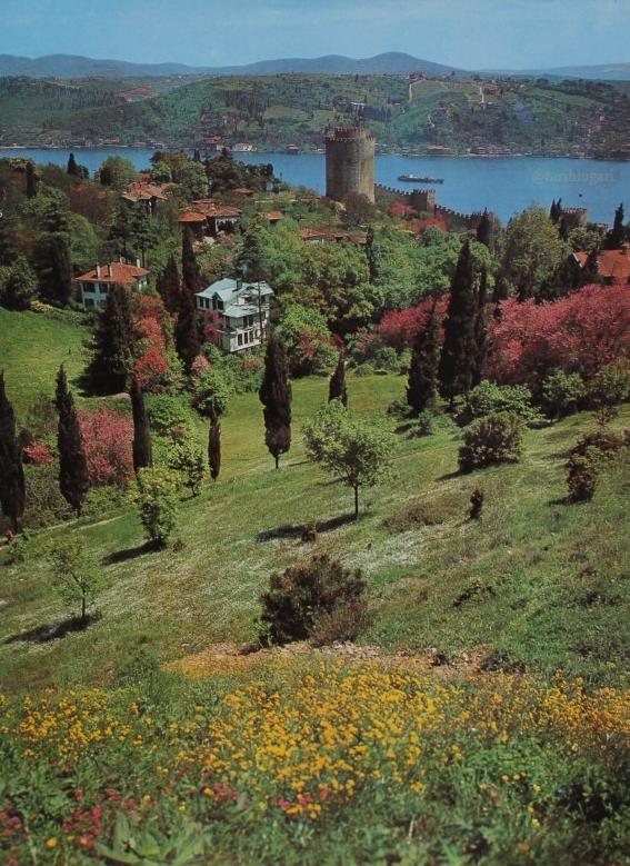 Bir zamanların bahar gelmiş İstanbul'u... https://t.co/qWLmcZ3tG1