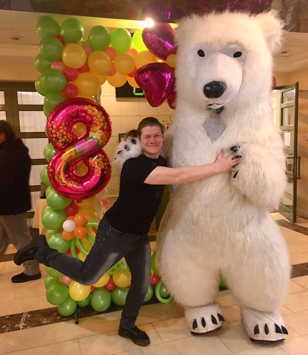 Выживший (часть 2): рабочий день закончен, дамы поздравлены, медведь уцелел.  #люблюсвоюработу #тплюскиров #8марта #фотозона #милота #мимимишкиpic.twitter.com/Btlly2mhJK