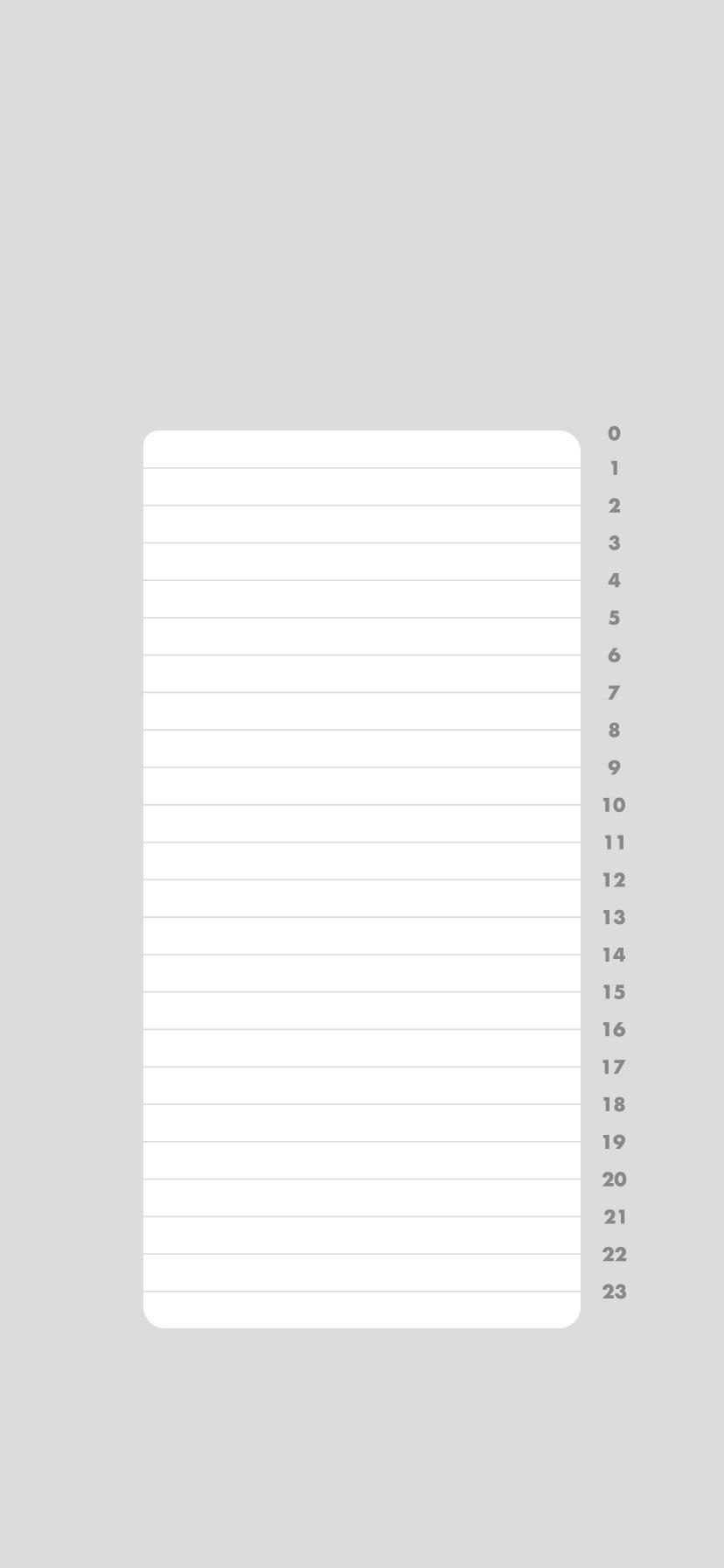 ツノダハジメ Detailess Na Twitteru 一日の生活をルーティン化して意識の高い生活をしたいと思い Iphoneのロック画面をタイムテーブルにできる壁紙を作りました タイムテーブルがおしゃれならある程度やる気がでるかな と考えました Noteでイラレデータを