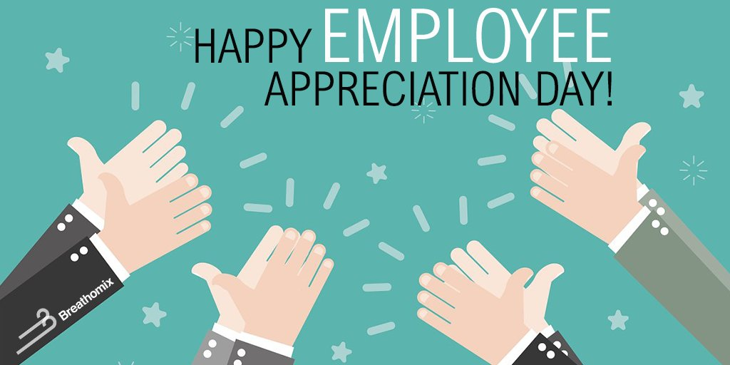 Today is #EmployeeAppreciationDay! Although we appreciate them every day, we want to say a big #ThankYou to our amazing colleagues!   #JustBreathe #BreathBase #BreathAnalysis #motivation #success #inspiration #Leidenpic.twitter.com/YPtwhZ0BBC