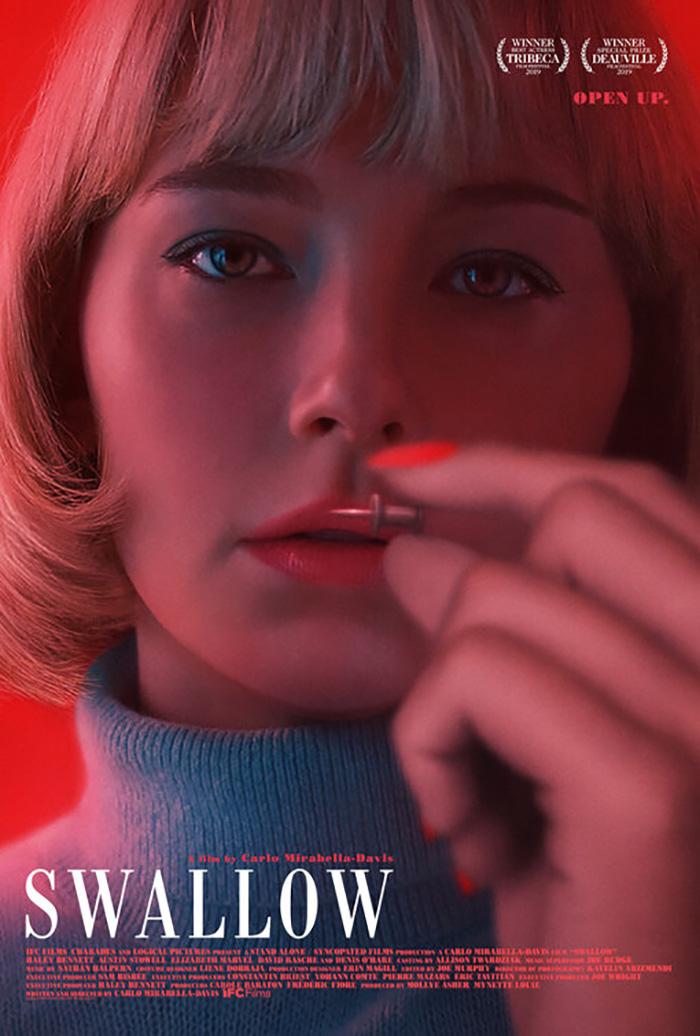 Resultado de imagem para swallow movie poster
