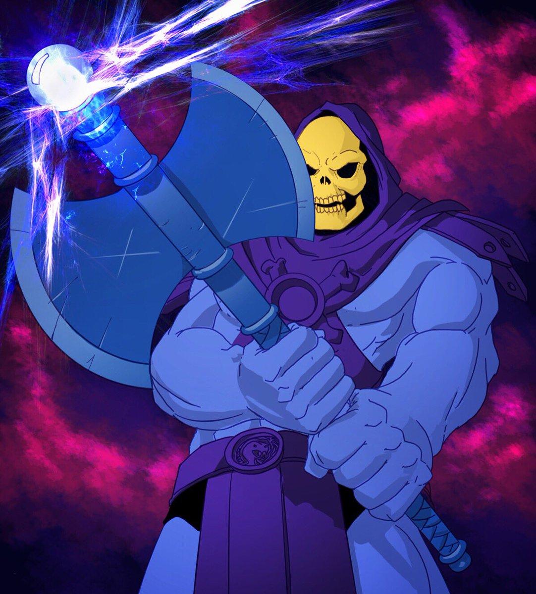 MOTU Blue He Man Battle Axe