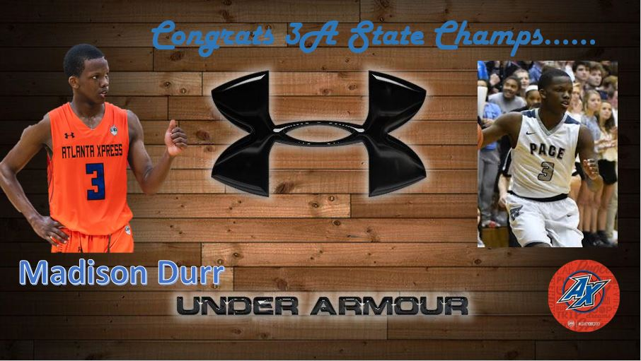 Congrats to @mdurr_3 @coachswhite @Pace_Hoops  #CrownMEPlease #Underarmour #Family https://t.co/13aSi8dLTQ