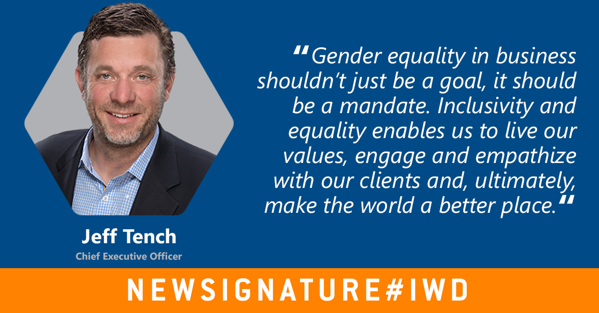 Monday is International Women's Day, and we're celebrating it by highlighting what an #EqualWorld can look like. @jefftench https://t.co/kBMPQC6KMY